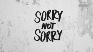 The art of the non-apology